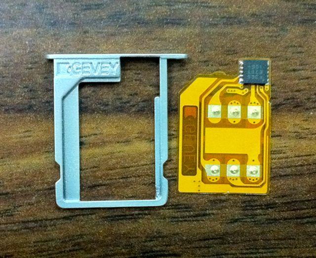 画像3: iPhone4 用のSIMロック解除機能付きSIMアダプター