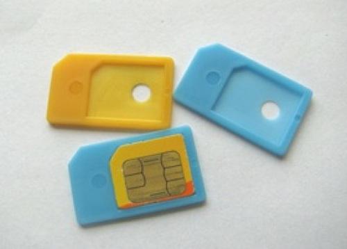 画像1: MICRO SIM アダプター