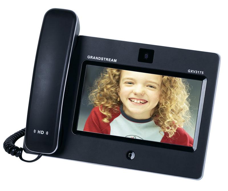 画像3: Grandstream タッチスクリーン IPマルチメディアフォン