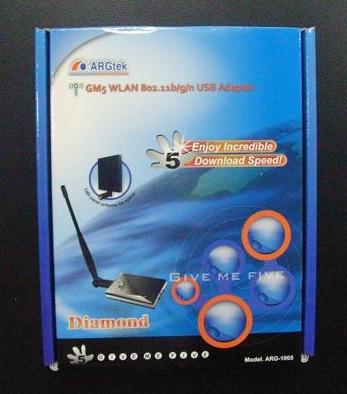 画像2: ARGTEK USB WiFi ハイパワー (1000 mW)  アダプター