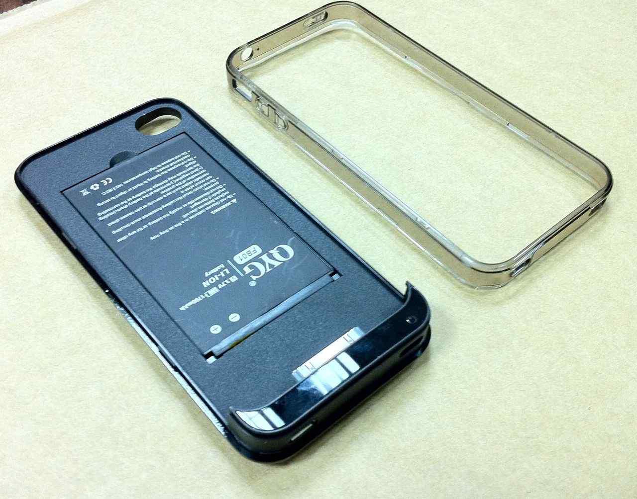 画像3: iPhone4 用バッテリーケース付き保護ケース